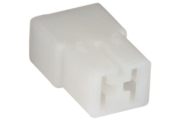 Product image for 2 way type C receptacle housing,0.25in