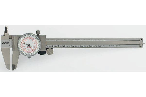 Product image for Dual scale caliper,0-150mm & 0-6in