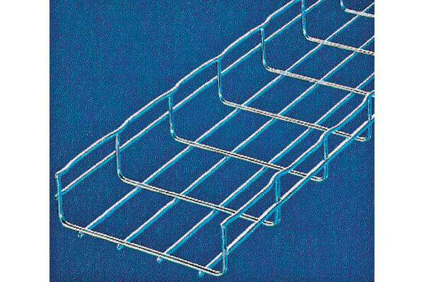 Product image for STEEL WIRE CABLE TRAY,150X30MM 3M LENGTH