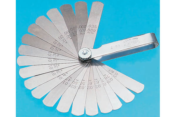 Product image for Imperial parallel 22 blade feeler gauge