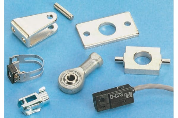 Product image for Piston rod clevis for 12 & 16mm cylinder
