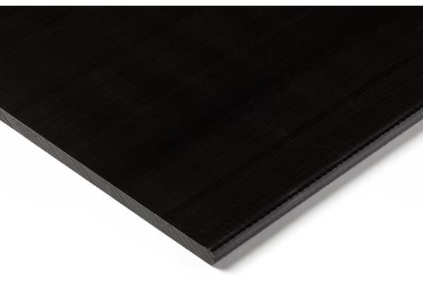 Product image for Black acetal sheet stock,500x300x6mm