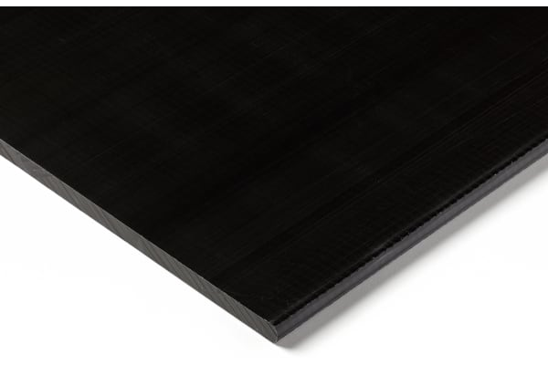 Product image for Black acetal sheet stock,500x300x8mm