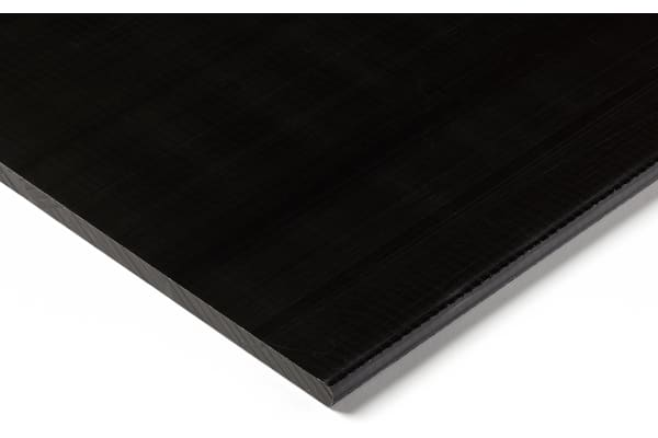 Product image for Black acetal sheet stock,500x300x20mm