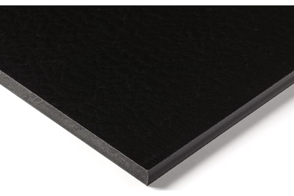 Product image for Black nylon 6 sheet stock,500x300x12mm