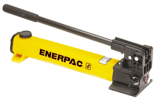Product image for Enerpac P39 ULTIMA Series Single Speed, Hydraulic Hand Pump, 655cm3, 20.6mm Cylinder Stroke, 700 bar