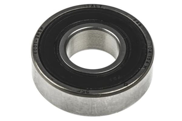Product image for 1 row radial ball bearing,2RS1 5mm ID