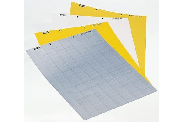 Product image for SIGN,LEB132, SHEET OF 154