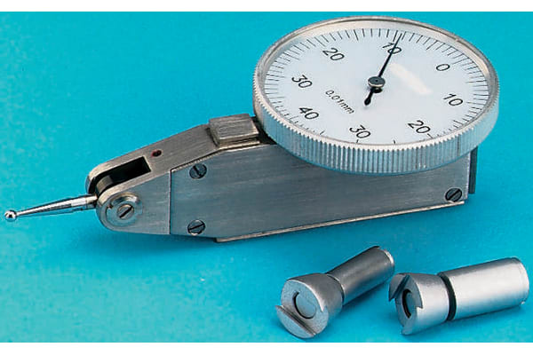 Product image for Lever type dial indicator,0-0.8mm/0-40-0