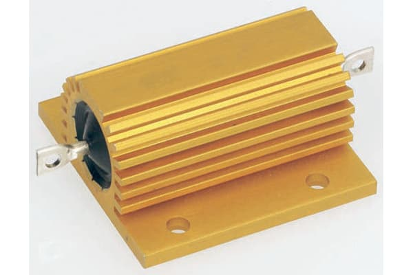 Product image for Arcol HS100 Series Aluminium Housed Axial Wire Wound Panel Mount Resistor, 2.2Ω ±5% 100W