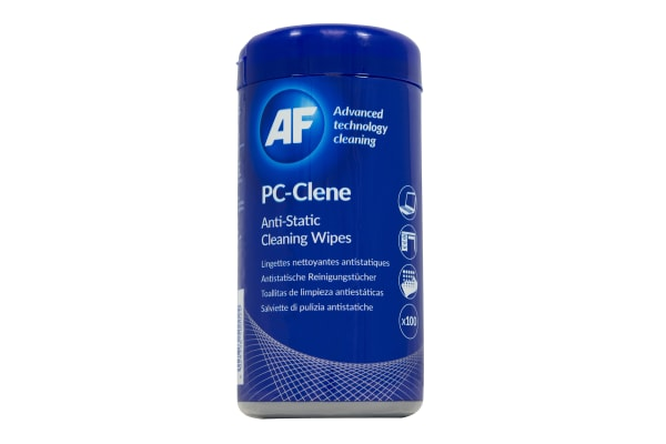 Product image for ANTI-STATIC PC CLEANER WIPES,100 WIPES