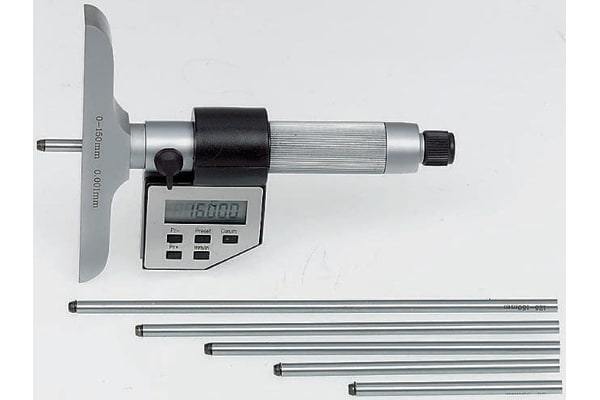 Product image for RS digital electronic depth micrometer