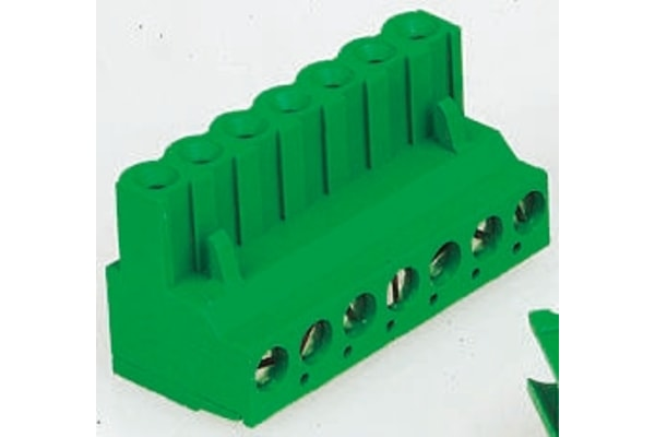 Product image for 10 way screw terminal,5.08mm pitch