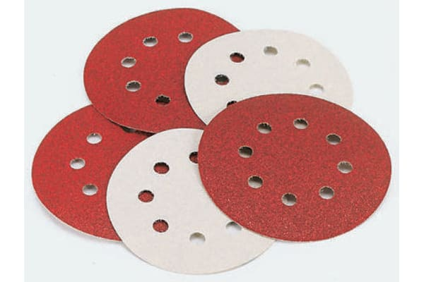 Product image for 125MM RANDOM ORBIT DISCS. 80G
