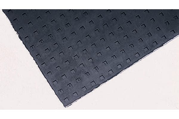 Product image for Fabreeka 457mm Anti-Vibration Pad FABCEL 200 200psi Neoprene +150°F 457 x 457 x 13mm 13mm