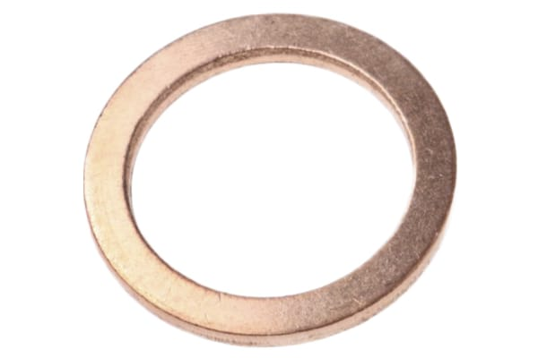Product image for Copper washer for push-in fitting,1/4in