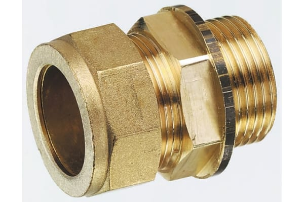 Product image for Straight coupling,10mm compx1/4in BSPP M
