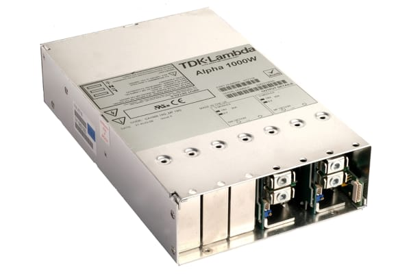 Product image for TDK-Lambda, 1kW Embedded Switch Mode Power Supply SMPS, 24V dc, Enclosed