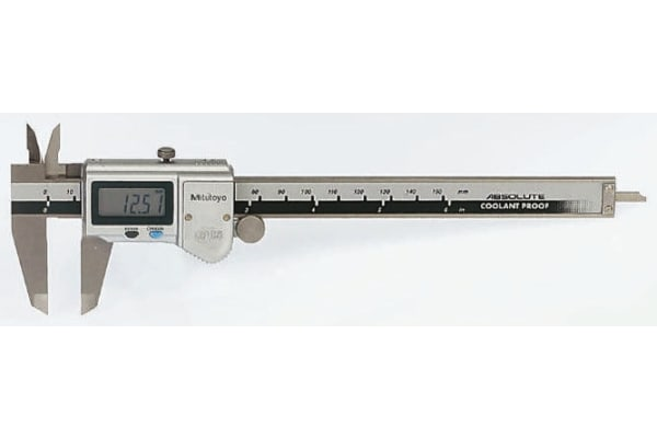 Product image for IP66 ABSOLUTE COOLANT PROOF CALIPER,6IN