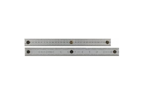 Product image for Magnetic steel rule,12in/300mm