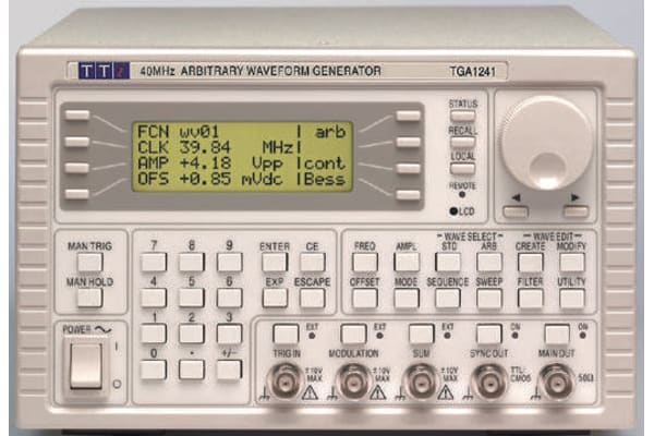 Product image for Aim-TTi TGA1241 TGA1241 Arbitrary Waveform Generator 16MHz