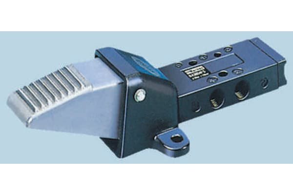 Product image for G1/4 5/2 foot/spring valve