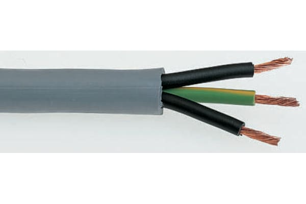 Product image for GRY 3 CORE YY CONTROL CABLE,0.75SQ.MM50M