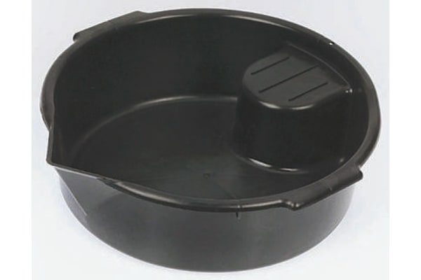 Product image for Polyethylene vehicle drain pan,400mm dia