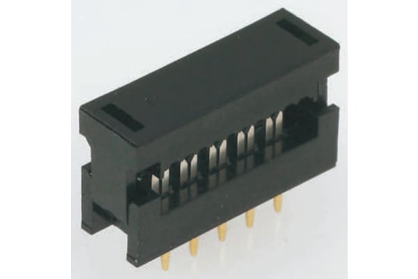 Product image for 14 way IDC 2 row transition connector
