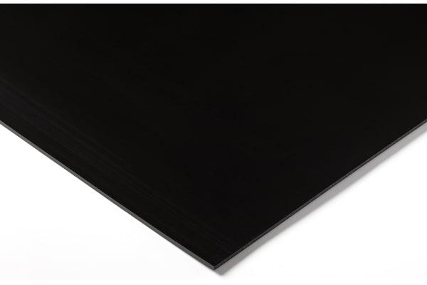 Product image for Black polyethylene sheet,1000x500x4mm