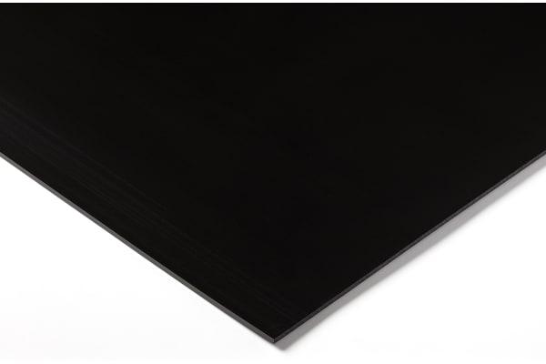 Product image for Black polyethylene sheet,1000x500x10mm
