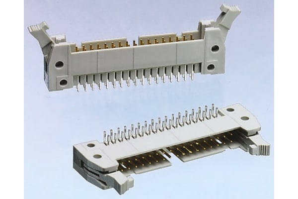 Product image for 64 WAY ANGLED MALE SIDE LATCH HEADER,1A