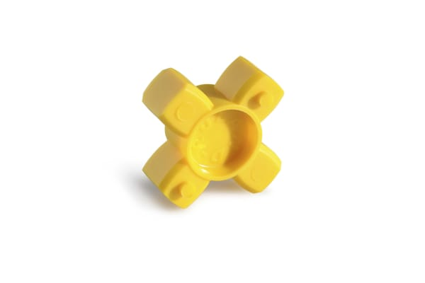 Product image for Ruland Jaw Coupling Spider JD16/25-92Y, For Use With 25 mm Hubs, 92Shore A