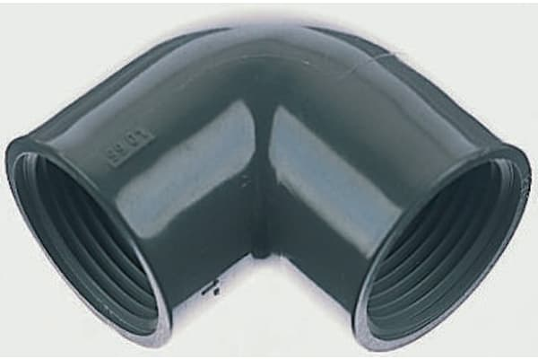 Product image for PVC-U ELBOW,1/2IN BSPP F