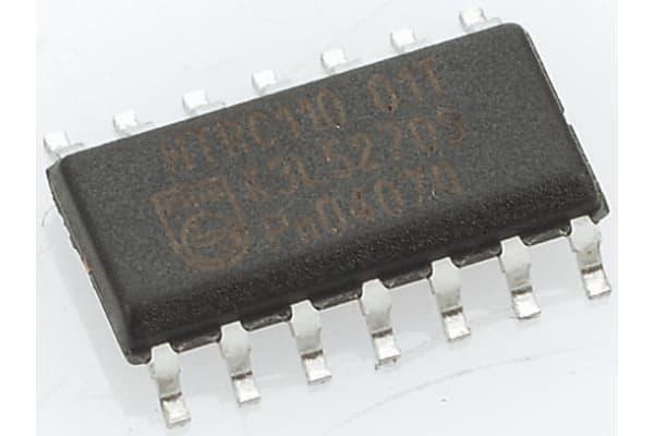 Product image for 74HC HEX SCHMITT INVERTER SO14