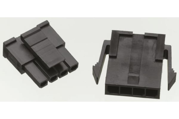 Product image for 10 way 1 row panel mount plug,3mm pitch
