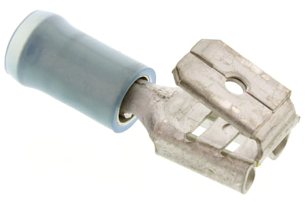 Product image for Blue piggyback terminal,1-2.6sq.mm wire