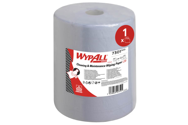 Product image for Kimberly Clark Dry Cleaning Wipes for Light Duty Cleaning Use, Roll of 500