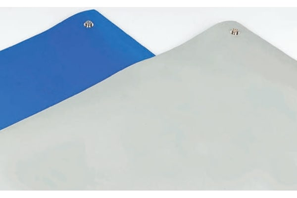 Product image for Blue 3 layer vinyl floor mat,1200x1800mm