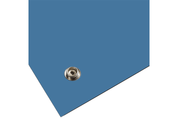 Product image for Blue 3 layer vinyl bench mat,600x1200mm
