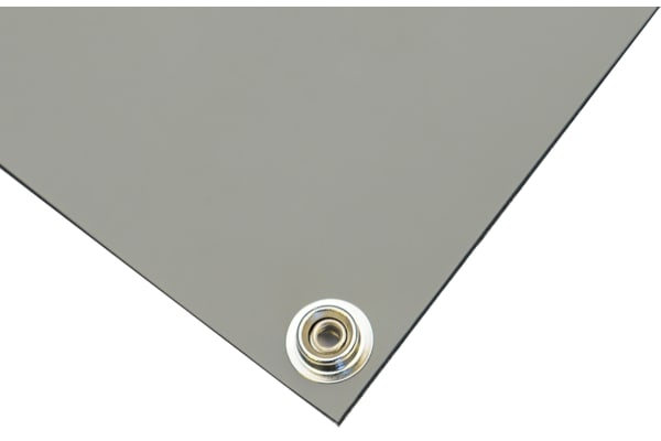 Product image for Grey 3 layer vinyl bench mat,600x1200mm