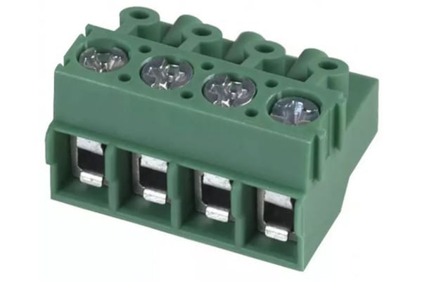 Product image for Phoenix Contact, PT 1.5/4-PVH-5.0 5mm Pitch PCB Terminal Block