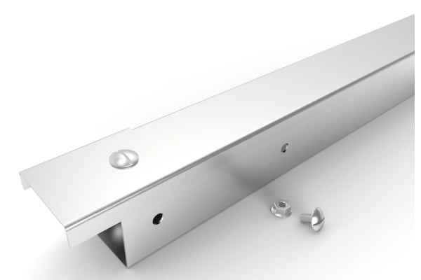 Product image for Stainless steel trunking,50x50mm x 3m