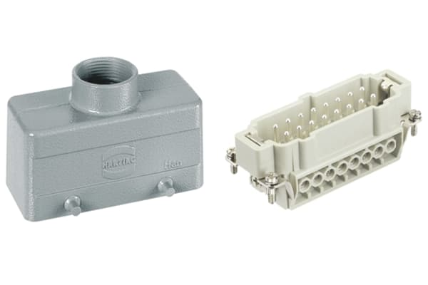 Product image for 16 WAY TOP ENTRY HOODED  PLUG,16A PG21