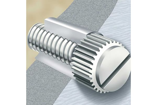 Product image for NYLON THUMB SCREW M4X10
