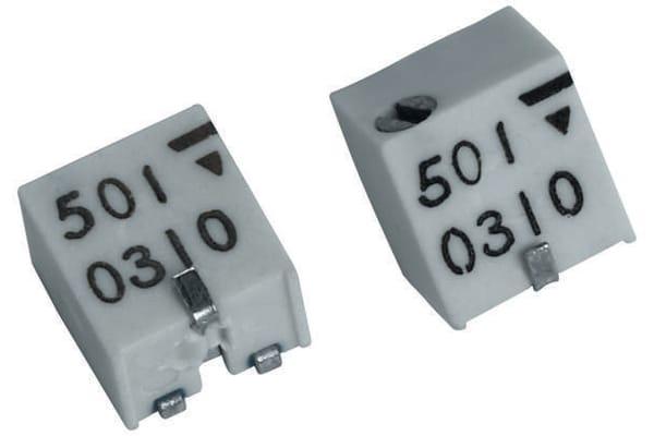 Product image for YJ SMT 11-turn cermet trimmer,100K 0.25W