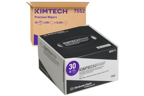 Product image for Kimberly Clark Dry Cleaning Wipes for Clean Room Use, Box of 280