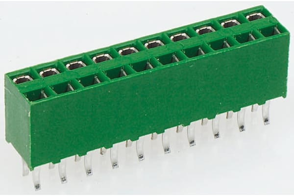 Product image for 2 x 4 way vertical receptacle MODU
