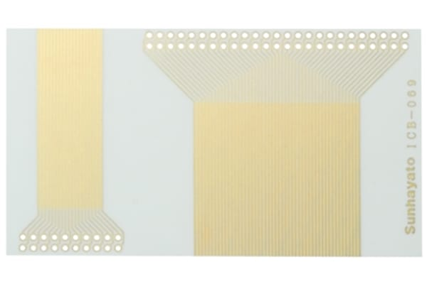 Product image for PCB,1 SIDED,PROTOTYPING,EPOXY