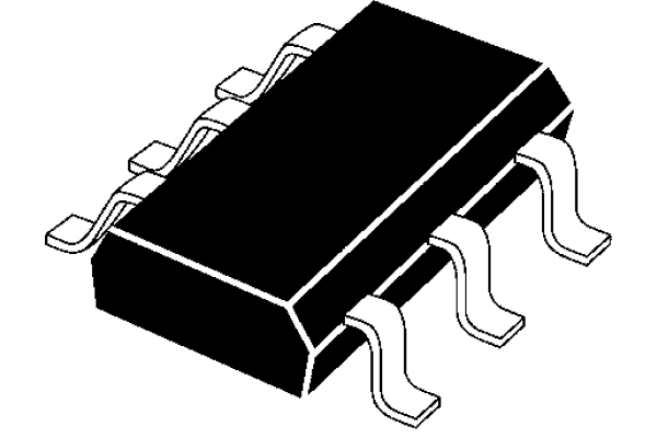 Product image for UHS Dual Buffer Schmitt Trigger CMOS